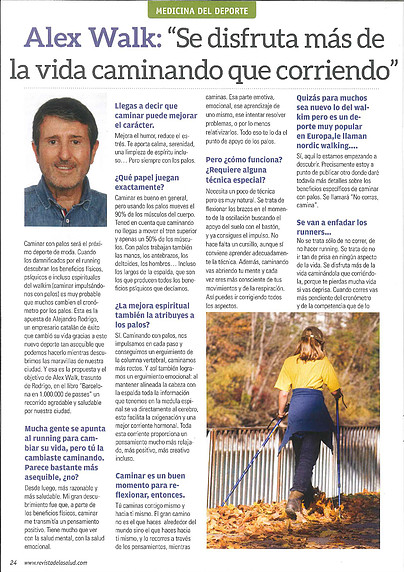 REPORTAJE – Revista de la salud.com
