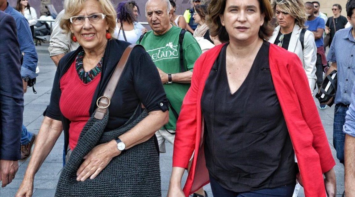 """Colau y Carmena: """"Somos antisistema y revolucionarias que creen en el amor"""""""