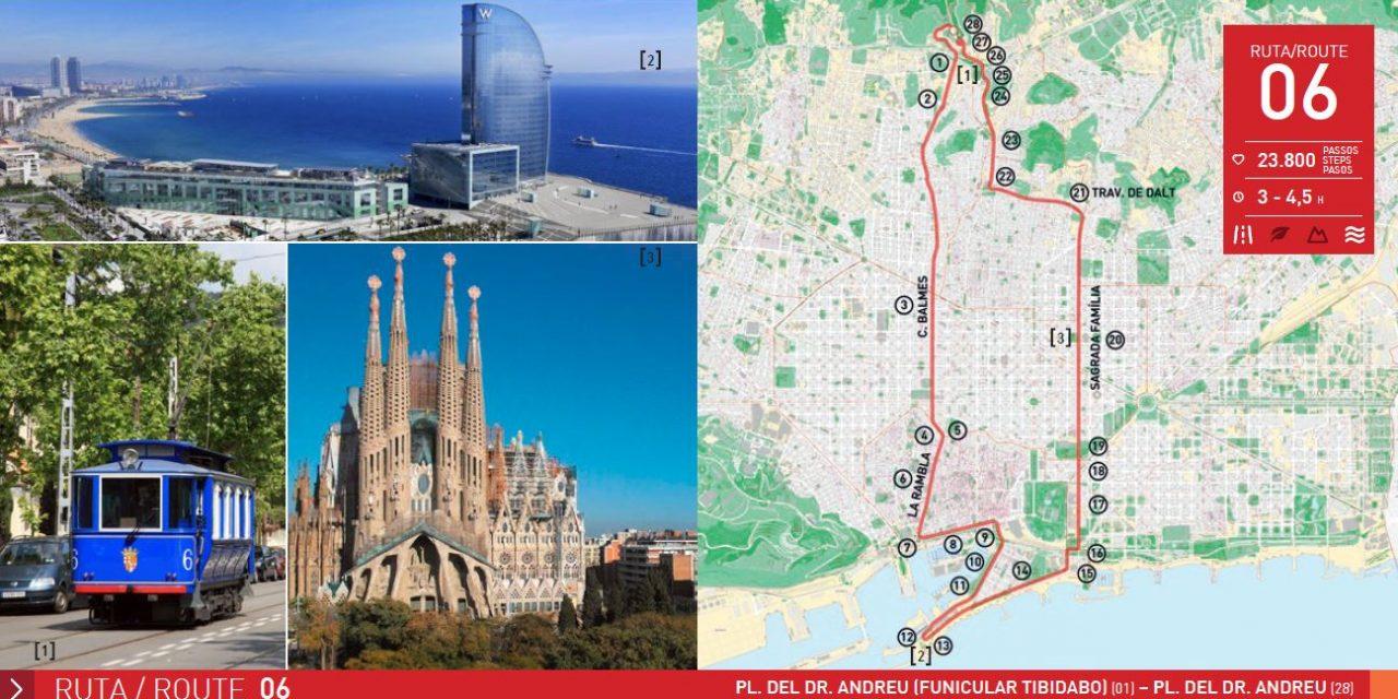 RUTA 6 BARCELONA: PLAÇA DR. ANDREU – HOTEL VELA – PLAÇA DR. ANDREU