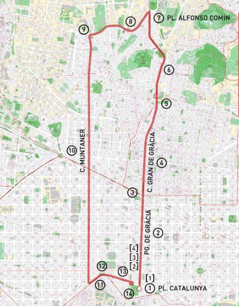 ruta caminar barcelona turismo alex walk