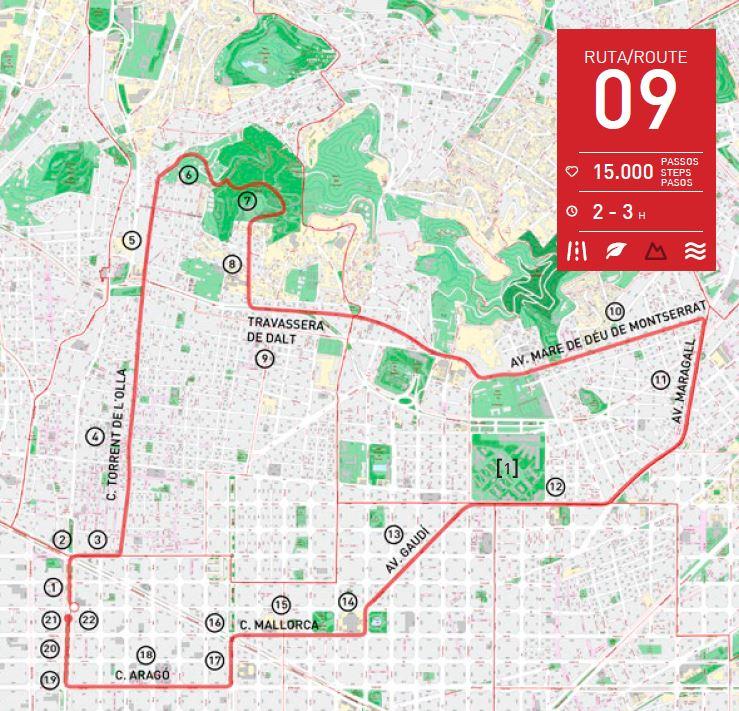 ruta barcelona caminar turismo alex walk
